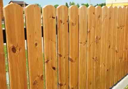 wooden fence installations